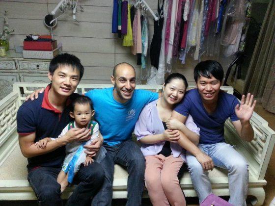 Мухаммед в приемной семье в Пекине