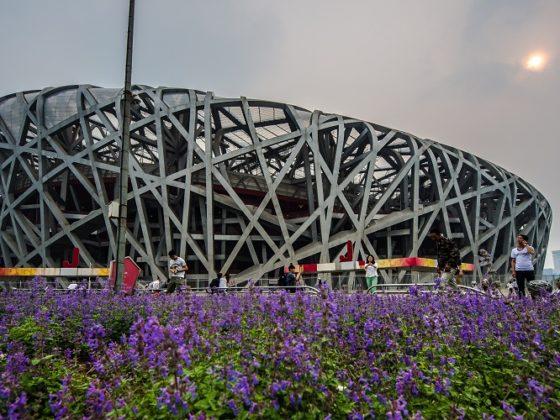 Стадион гнездо птицы - Олимпийские игры 2008 в Пекине