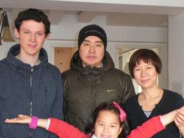 Приемная семья в Пекине
