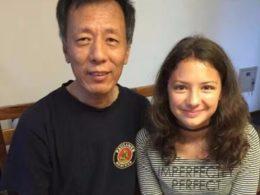 Лаодис с ее приемным отцом