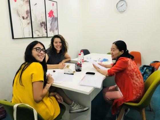 Изучение китайского языка в группе