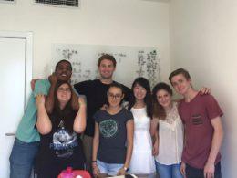 Учитель София с учениками