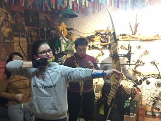 Стрельба из лука в Чендэ