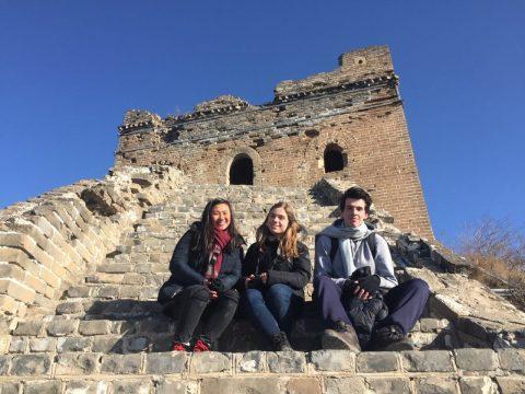 Великая Китайская Стена - Джойслин, Кэтрин и Николас