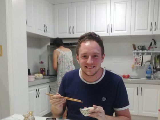 Ужин в китайской семье
