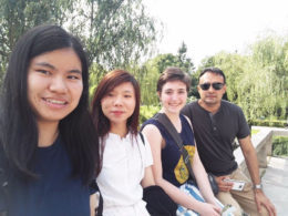 Ученики с учителями на экскурсии