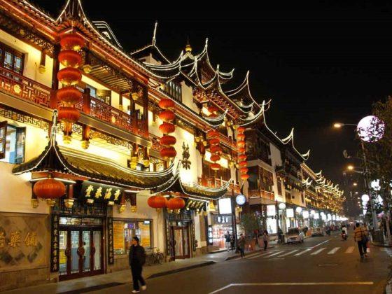 Старый город в Шанхае