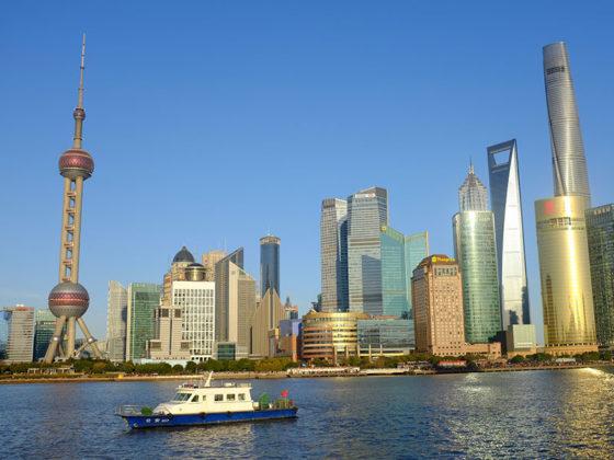 Набережная Шанхая