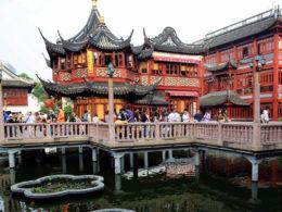 Сады Yu Yuan в Шанхае