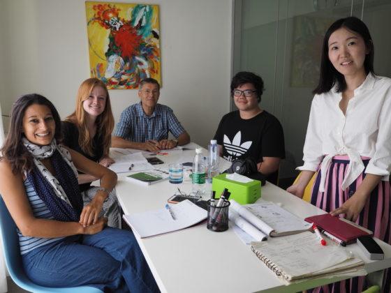Групповые уроки китайского с учителем Люси