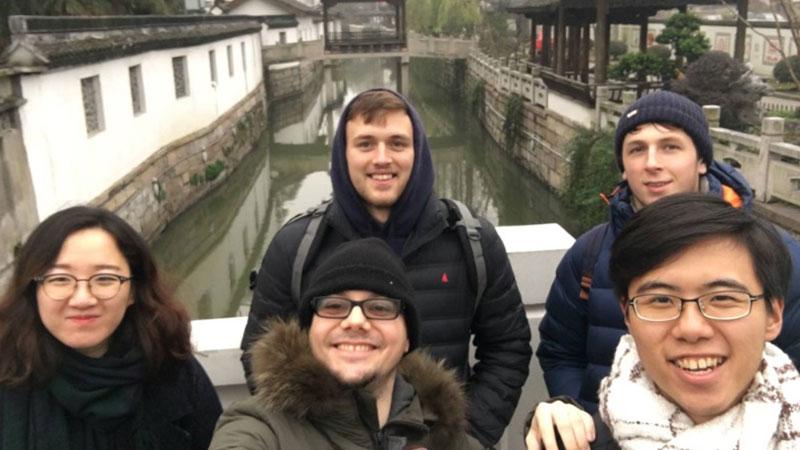 Поездка в Suzhou