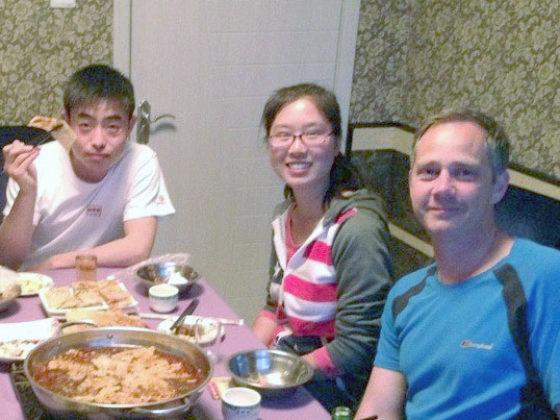 Ужин с приемной семьей